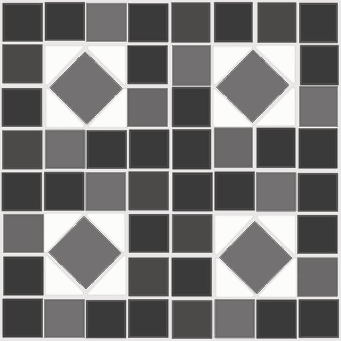 Self Adhesive Decorative And Removable 12 X 2 5mm Vinyl Tile