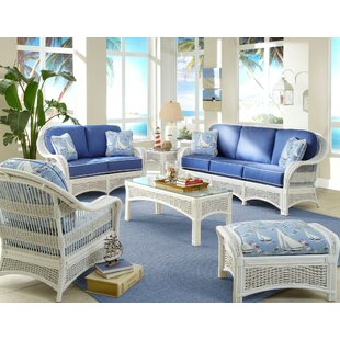 Beau Regatta Living Room Set. By Spice Islands Wicker