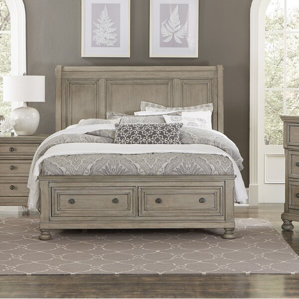 Carleton Storage Sleigh Bed by Canora Grey