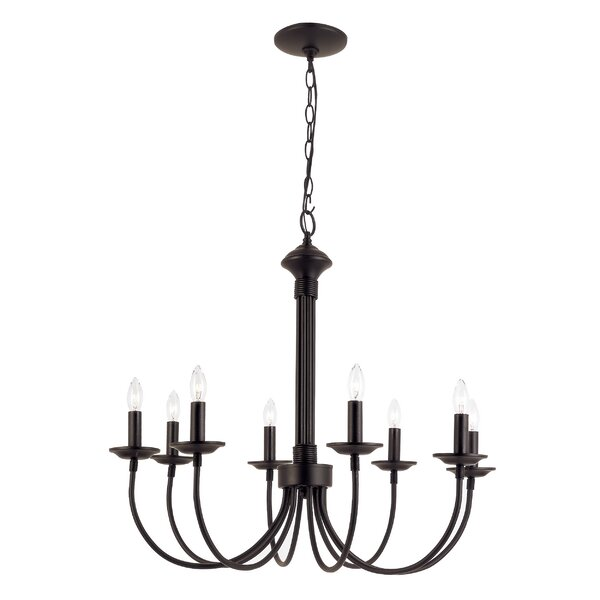 Shaylee 8-Light Chandelier by Laurel Foundry Moder