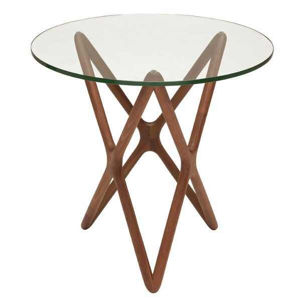 Martha Star End Table by Brayden Studio