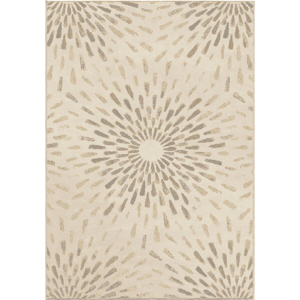 Gracie Ivory Area Rug by Latitude Run