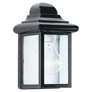 Top Reviews Retha 1-Light Outdoor Sconce By Highland Dunes