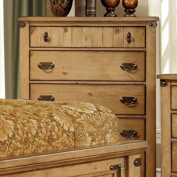 Wiest Cottage 5 Drawer Chest by Loon Peak