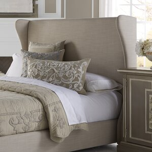Upholstered Wingback Headboard by PRI