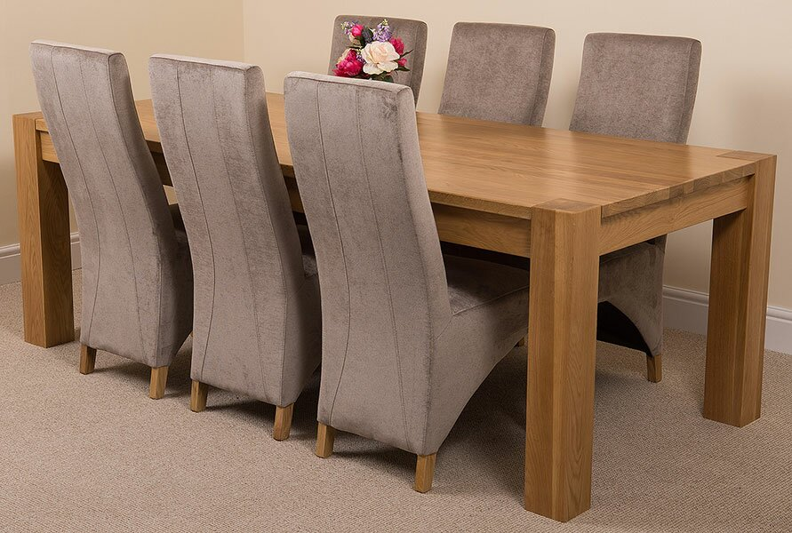 red barrel studio essgruppe trout river mit 6 st hlen bewertungen. Black Bedroom Furniture Sets. Home Design Ideas