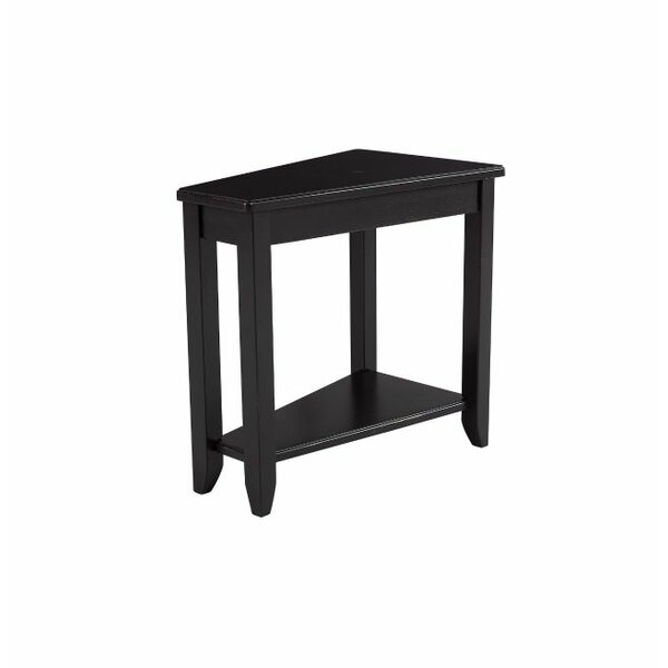Amelie Wedge End Table by Winston Porter