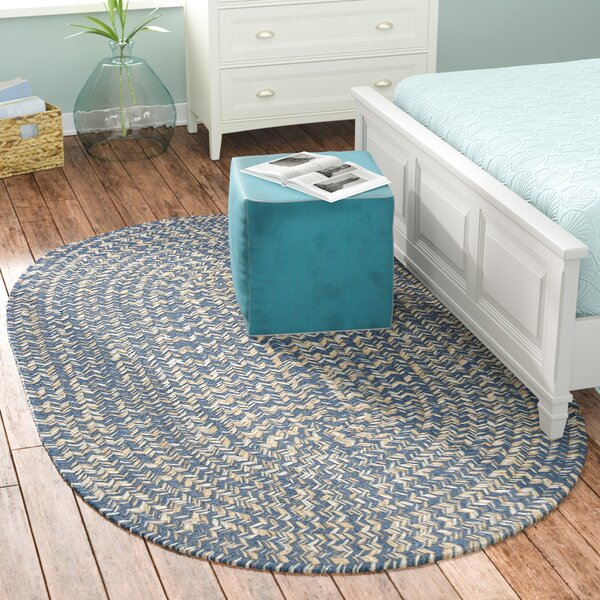 Maleah Denim Area Rug by Beachcrest Home