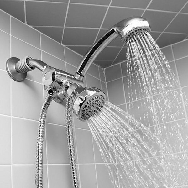 Massage 1.8 GPM Shower Head by Sweet Home Collection