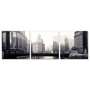 U0027Chicagou0027 Photographic Print Multi Piece Image On Wrapped Canvas