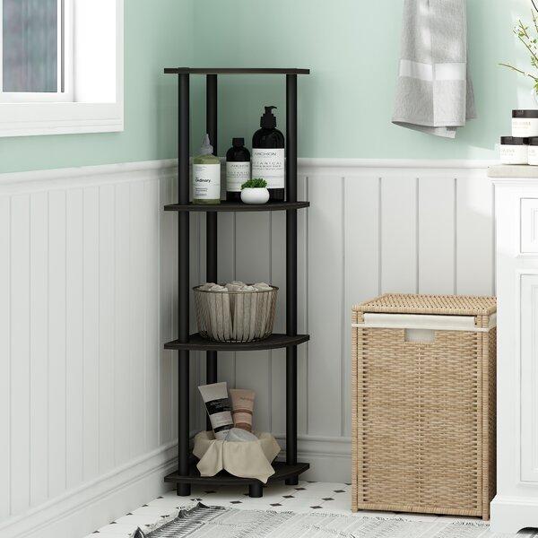 Brenna Corner Bookcase By Zipcode Design