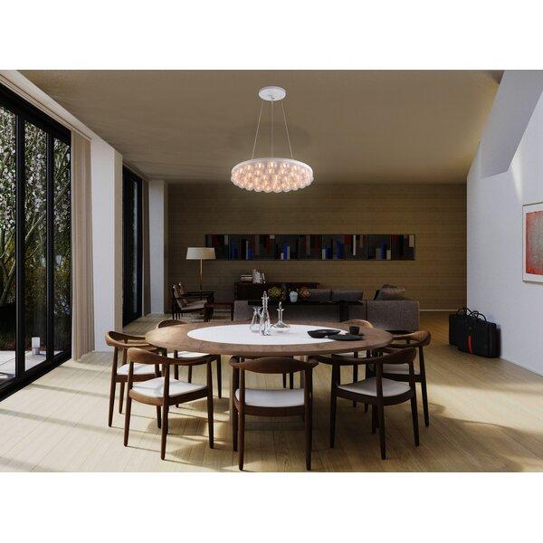 Durham 1 - Light Unique / Statement Geometric Chandelier By Brayden Studio