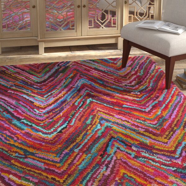 Browndell Hand Tufted Multi-Colored Area Rug by Bungalow Rose