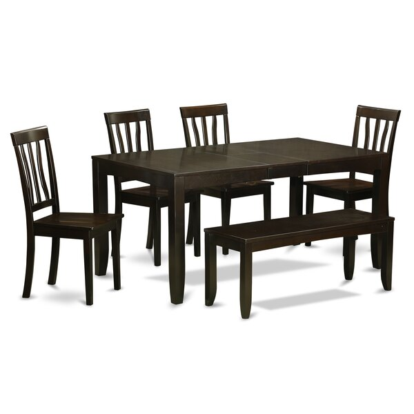 Lockmoor 6 Piece Dining Set by Red Barrel Studio