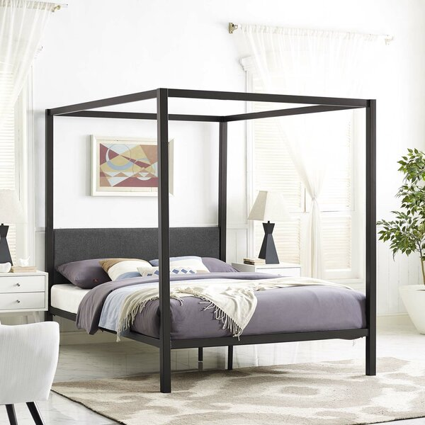 Ferro Canopy Bed Frame by Ivy Bronx