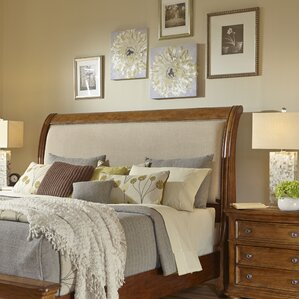 Paxton Upholstered Sleigh Headboard by Samuel Lawrence