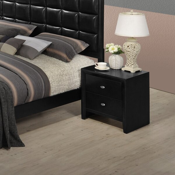 Willenhall 2 Drawer Nightstand by Ebern Designs