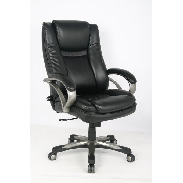 Black Executive Chair by Symple Stuff