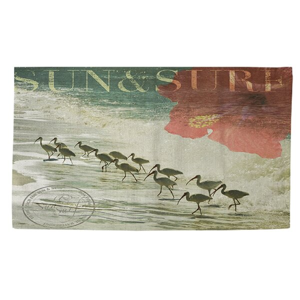 Sun and Surf Area Rug by Manual Woodworkers & Weavers