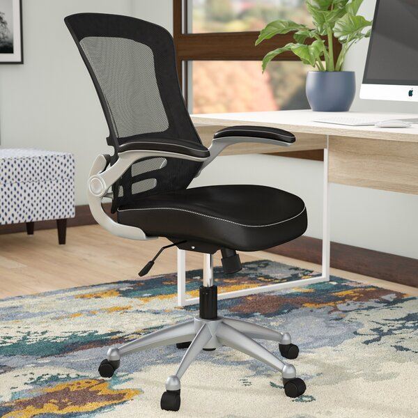 Orrstown High-Back Mesh Desk Chair by Wrought Studio