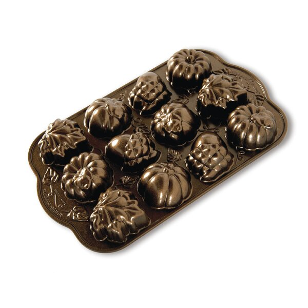 Non-Stick Novelty Autumn Delights Cake Pan by Nordic Ware