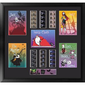 The Nightmare Before Christmas FilmCell Framed Graphic Art by Trend Setters
