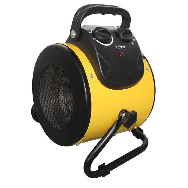 1,500 Watt Electric Fan Compact Heater by AZ Patio