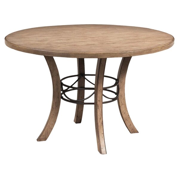 Rocio Solid Wood Dining Table by Alcott Hill