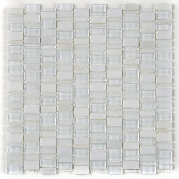 Clio Random Sized Glass Mosaic Tile in Luna by Daltile