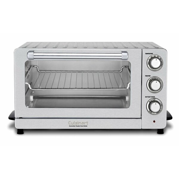 0.6 Cu. Ft. Toaster Oven Broiler with Convection b
