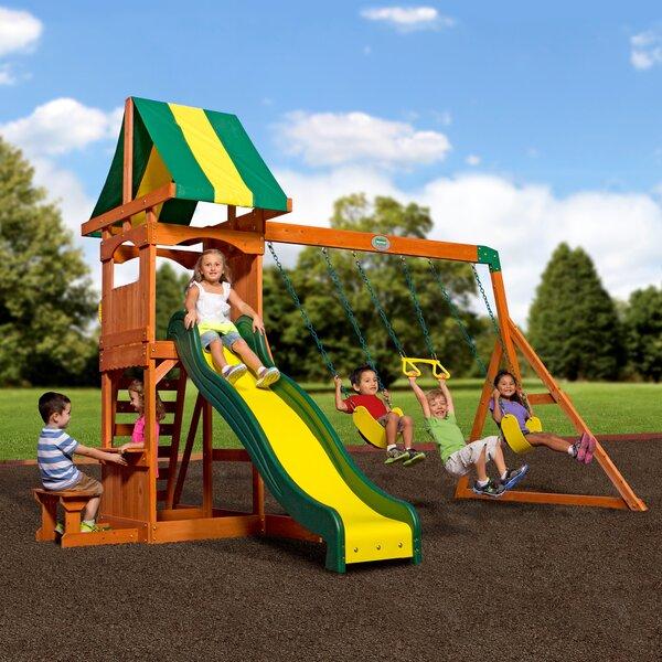 Weston All Cedar Swing Set by Backyard Discovery