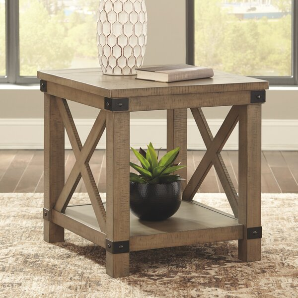Emiliano End Table By Laurel Foundry Modern Farmhouse