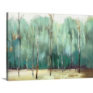 Teal Forest by PI Studio Painting Print on Canvas by Great Big Canvas