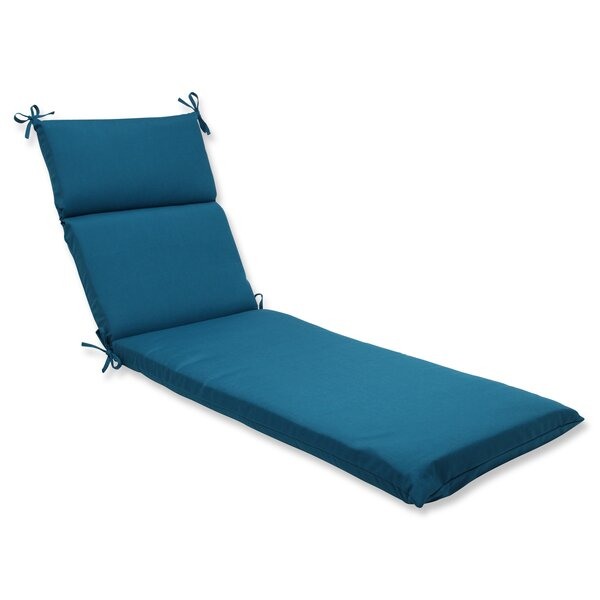 Spectrum Indoor/Outdoor Sunbrella Chaise Lounge Cushion by Pillow Perfect