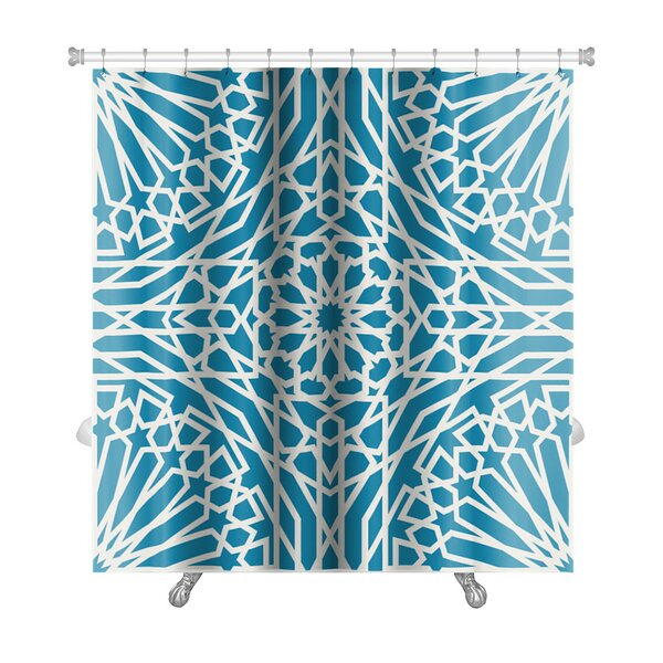 Kilo With Pattern in Islamic Style Premium Shower Curtain by Gear New