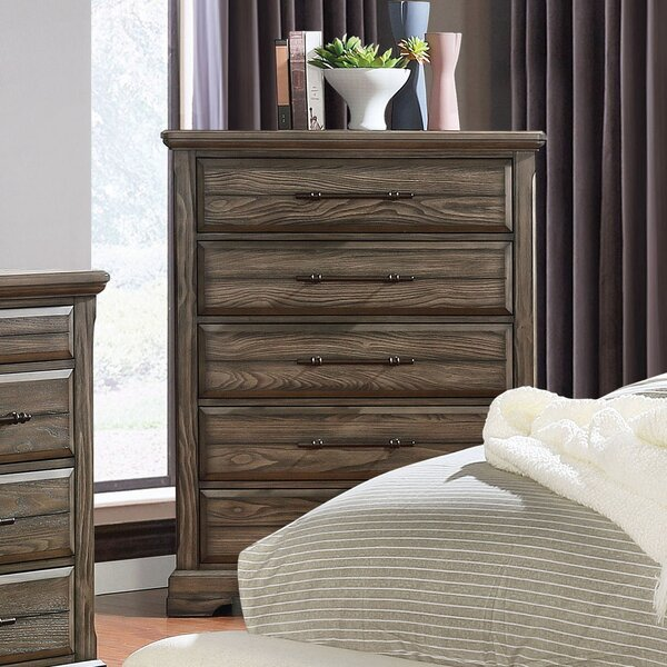 Mammie 5 Drawer Chest by Loon Peak