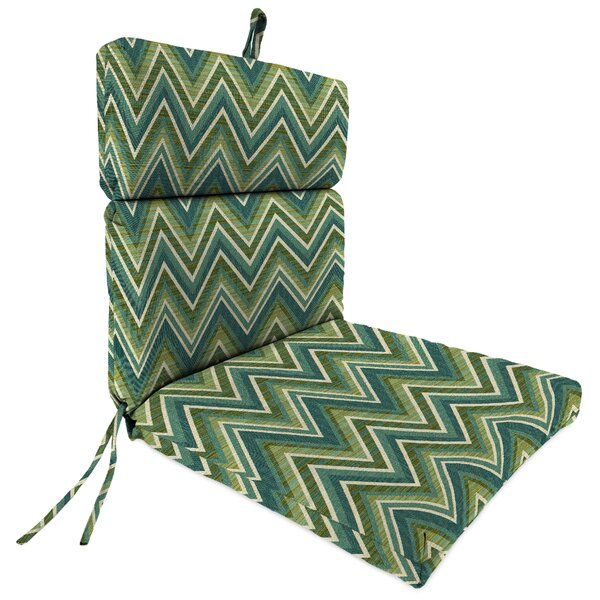 Indoor/Outdoor Sunbrella Dining Chair Cushion by Latitude Run