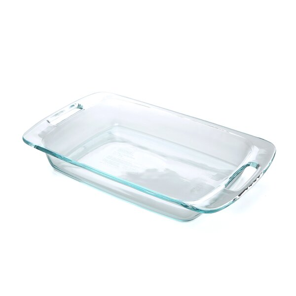 3 Qt. Grip-Rite Oblong Baking Dish (Set of 4) by Pyrex