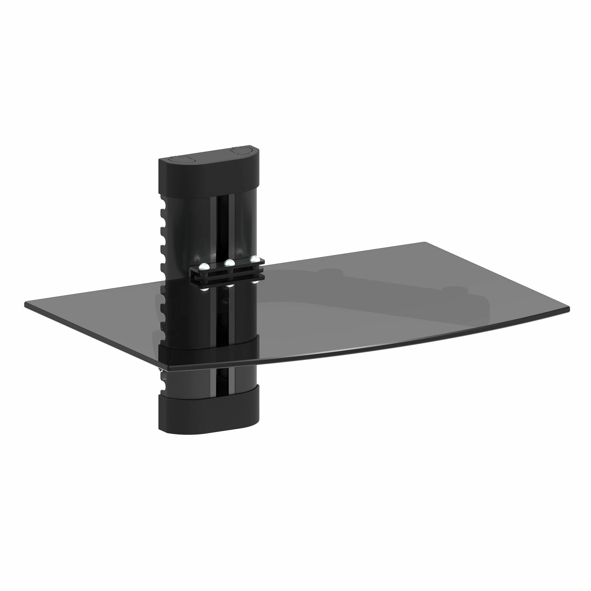 Promounts On Wall Av Component With Single Shelf Reviews