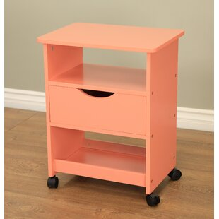 Read Reviews All Purpose Rolling End Table ByMega Home