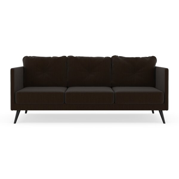 Schiavone Satin Weave Sofa by Orren Ellis