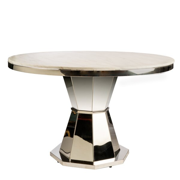 Needham Marble Dining Table by Everly Quinn