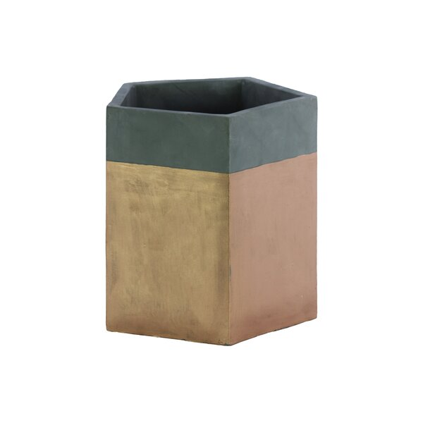 Betancourt Cement Pot Planter by George Oliver