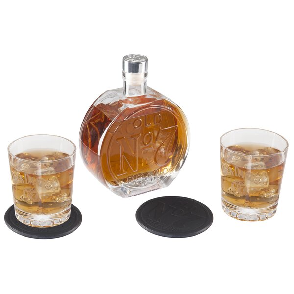 5-Piece Decanter Set by Jack Daniel's Lifestyle Products