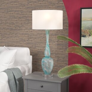 Blue Glass Lamp In Commercial Wayfair