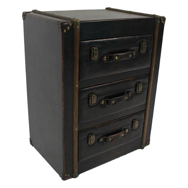 McCone 3 Drawer Accent Chest by Trent Austin Design