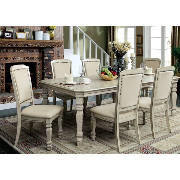 Tandor 7 Piece Extendable Dining Set by Enitial Lab