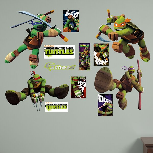 Teenage Mutant Ninja Turtles Wall Decal by Fathead