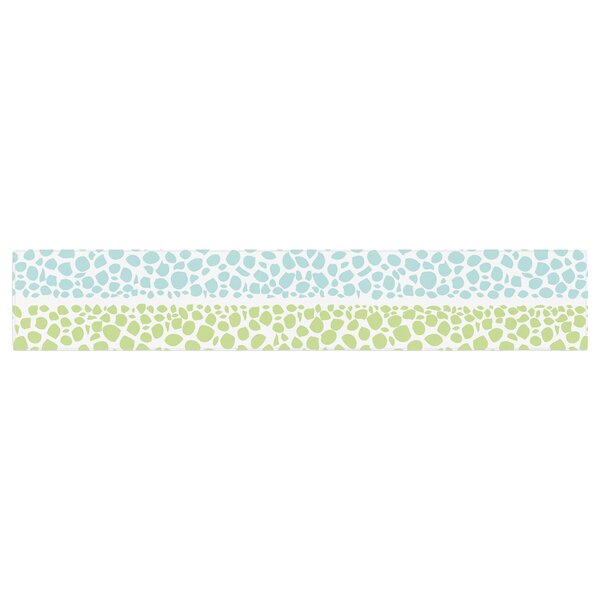 Pom Graphic Design Zen Pebbles Table Runner by East Urban Home