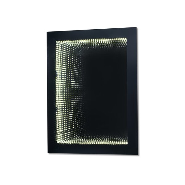 Nicolas LED Infinity Gloss Accent Mirror by Brayden Studio